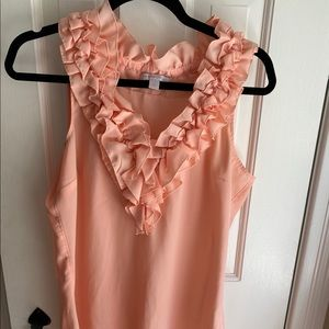 New York and Co. peach top